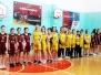 Баскетбол. Региональный турнир среди девушек.