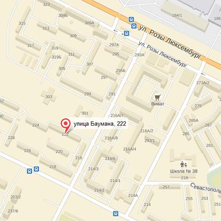 Иркутск, улица Баумана, д 222, оф. 61
