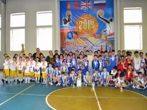 10-й Международный турнир по баскетболу в г. Улан-Батор (Монголия).