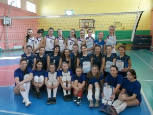 Финал первенства г. Иркутска по волейболу среди школ.